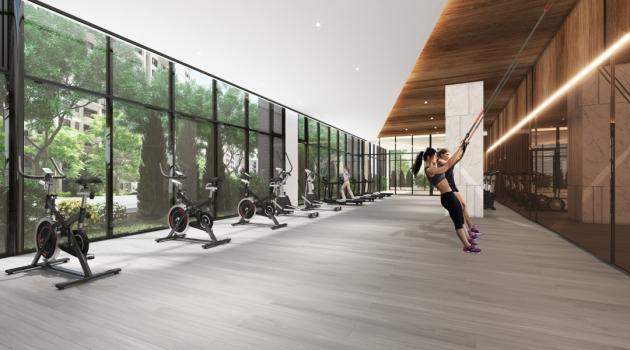 和發大境-_健身房